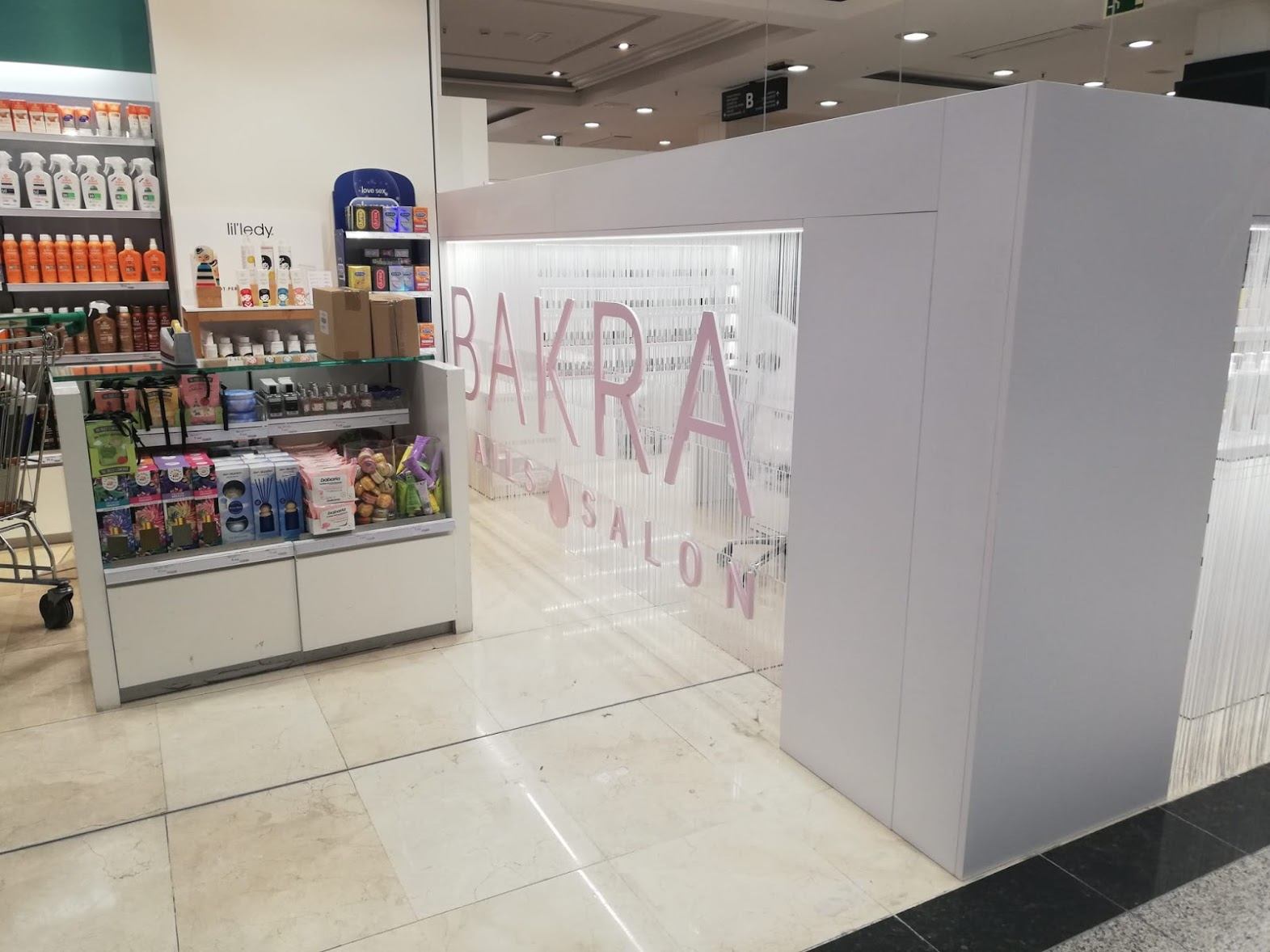 Stand Bakra Solid Surface